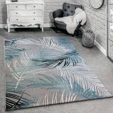 designer teppich modern wohnzimmer teppiche 3d palmen muster