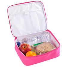 Royal Junior Lunch Bag Duragarde Fabric Healthy Delicious Open View