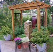 Decorating Sophisticated House Landscaping Ideas With Beautiful ... Design Garden Small Space Water Fountains Also Fountain Rock Designs Outdoor How To Build A Copper Wall Fountains Cool Home Exterior Tutsify Ideas Contemporary Rustic Wooden Unique Garden Fountain Design 2143 Images About Gardens And Modern Simple Cdxnd Com In Pictures Features Waterfall Tree Plants Lovely Making With