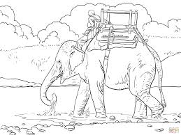18 Indian Elephant Coloring Pages 6722 Via Supercoloring