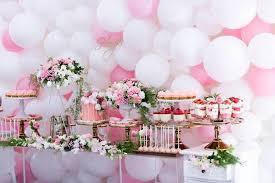 kara s party ideas dessert table from a pink white gold garden