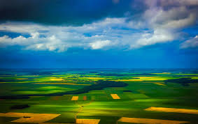 Field Meadow Prairie Countryside Sunlight Morning Hill Dawn Atmosphere Country Summer Dusk France Green Scenic Agriculture Aerial View