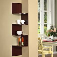 decor creative decorative wooden shelves for the wall home