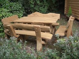 Amazing Outdoor Rustic Furniture With