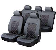 vw golf iii cabriolet housse siège auto kit complet noir gris