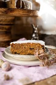 karotten kuchen mit kokosmilchguss kochmädchen foodblog