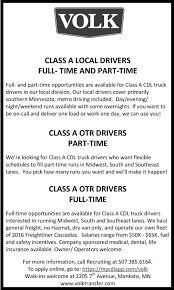 Mankato Home Magazine | Newspaper Ads | Classifieds | Employment | VOLK Executive Summary Truck Tolling Uerstanding Industry Tradeoffs Jr Schugel Student Drivers Owner Operator Car Hauler Salary Lovely Driver Wages And Appendix A Literature Review Tax Planning Tips Jrc Transportation Getting Started Star Fleet Trucking Gp Transco Company Ownoperator Team Jobs Contract Agreement Template Preview How Much Does Oversize Trucking Pay Ownoperators Pay January 2014 Youtube Lw Miller