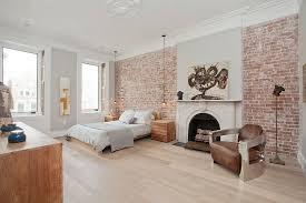 Brick Walls Add Textural Charm To The Scandinavian Bedroom Design Jensen C Vasil