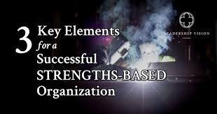 Three Key Elements For A Successful Strengths Based Organization