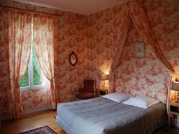 chambre toile de jouy chambre la vallière