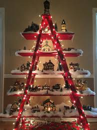 Tubular Light Bulb For Ceramic Christmas Tree by Mom U0027s Christmas Village Display Simply Beautiful Christmas