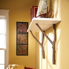 100 Tree Branch Bookshelves How To Make A Cottage Shelf With Es Family Handyman