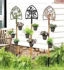 Rustic Garden Planters Best In The Images On Decorations Gardening And Flowers