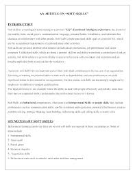 Communication Resume Sample Interpersonal Skills Soft Example On 911 Communications Officer