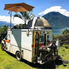 Man Drives Converted Ambulance Into Costa Rica