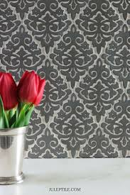 Damask Handmade Tile Backsplash IdeasBacksplash TileHandmade TilesDamask PatternsBathroom RenovationsTraditional KitchensBeautiful