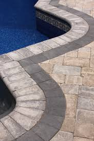 pool surround answers granite blue or sandstone drop or