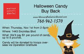 Operation Gratitude Halloween Candy Buy Back by Annual Halloween Candy Buy Back U2014 Warner Pediatric Dental