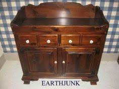 ethan allen antiqued pine old tavern drop leaf end table 12 8203