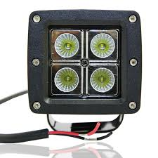 16Watt Square LED Off Road Work Light Lamp (ORL-16) - TORCHSTAR 4 Inch 54w Led Flood Beam Car Offroad Truck Work Light Dc 1030v 55 X 34 Mirror Size 24w 1500lm Headlight Led Work Light Atv 4inch 18w Cree Led Spot Bar Pods Lights 4wd New Bucket Boys Electrical Contractors Llc Commander 750 And 1200 Series Federal Signal 4x 4inch 18w Cree Spot Driving Fog Lamp Safego 2pcs Bar Offorad Suv Boat 4x4 4wd 6 Rectangular 2150 Lumens Elite Lot Two Mini 27w 9 Worklights