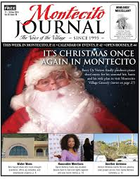 Christmas Tree Lane Alameda Hours it u0027s christmas once again in montecito by santa barbara sentinel