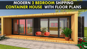 100 Free Shipping Container House Plans Modular 2 Bedroom Prefab Home Design With Floor MODBOX 640 ELEGANCE