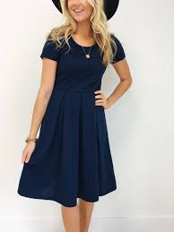 the grace dress in navy navy models and clothes