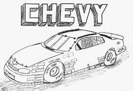 Stock Car Coloring Pages Nascar Funycoloring