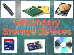 Secondary Storage Devices Device Any Type Of That Is External To The