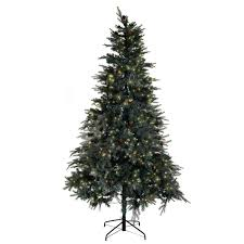 Costway 8 Ft Prelit Artificial Christmas Tree W450 LED Lights Stand Holiday Season