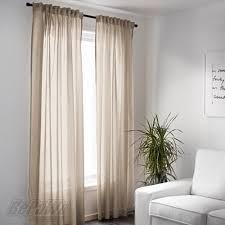 ikea vivan gardinen vorhänge 2 schals gardinenschals beige
