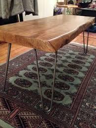 Diy Wood Slab Coffee Table by My Diy Wood Slab Coffee Table Diy U0026 Crafts Pinterest Wood