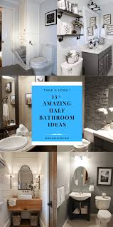 23+ Amazing Half Bathroom Ideas To Jazz Up Your Half Bath – Demian ... The Most Amazing Bathroom Design Trends For Summer 2018 News And Spa Master With Home Gym Hgtv Cool Modern Slate Tile Designs Pictures Ideas Tile Design Wall Small 25 Page 20 Of Garden Sphere Restaurant Bathrooms Cozy Bathtub Bathroom Cute Contemporary Different Designs Amazing Modern Apartments Light Blue White Fresh Grey Awesome New I Sellmecubescom Latest At Your Local Store Westsidetile