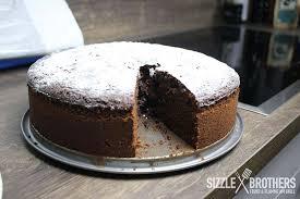 schokoladenkuchen vom grill grillrezept sizzlebrothers
