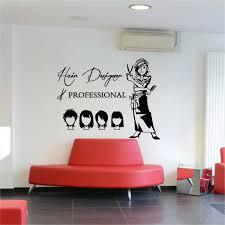 Hair Cut Design Beauty Salon Wall Sticker