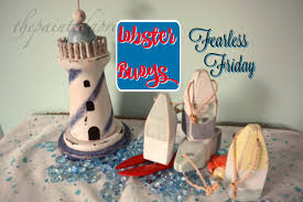 Decorative Lobster Traps Large by Fearless Friday Lobster Trap Buoys The Painted Apron
