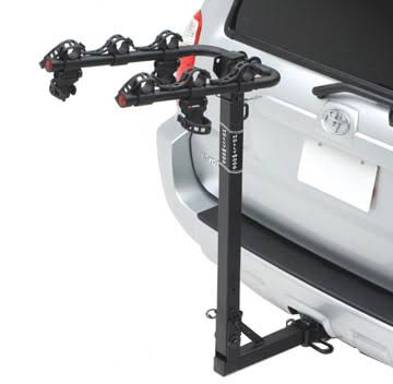 Hollywood Racks Traveler 3-Bike Hitch Mount Rack - 1-1/4in and 2in Receiver