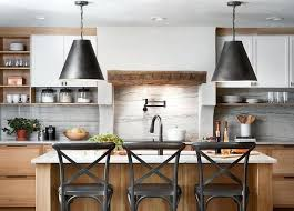 Joanna Gaines Kitchen Investment 2 Pendant Lights Farmhouse Island