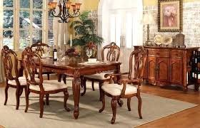 Cherrywood Dining Room Set Sets Modern Ideas Cherry Wood Chairs Shining Design
