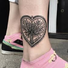 Ankle Tattoo Designs 56