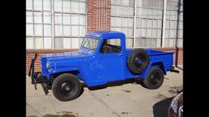 1960 Willys Pickup 4x4 Frame Off Restored - YouTube