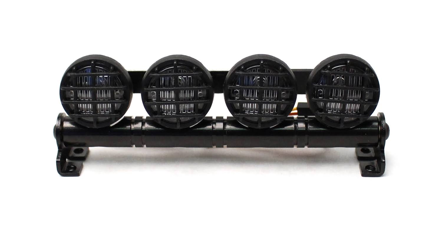 Racers Edge - RCE3413 1/10 Scaler LED Round Light Bar (100mm)