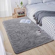 leesentec teppiche schlafzimmer modern designer für wohnzimmer hochflor shaggy langflor anti rutsch flauschig und weich teppich für home