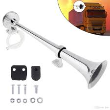 17 Inch 12v / 24v 150db Super Loud Single Trumpet Air Operated Horn ... 12v 125db Car Motorcycle Truck Horn Compact Electric Pump Air Loud Trux Accsories 3bell Train Model Thorn1 Auto Speaker Alarm 150db Tone Vehicle Boat Motor Lumiparty 178db Super Dual Trumpet Compressor Horns Sound Effect Youtube Flexzon 12v24v 139db Van Bus Vintage Jubilee Bull 90 Rat Rod Hot 12vt Fog Horn Makes 8milelake 150db Single For Wolo Electric Horns For Cars Trucks Boats Rvs And Motorcycles The Best 2018 Loudest Electrical