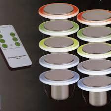 led a pile pour deco spots balisage led rvb saturn spot led pour mur