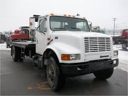 1999 INTERNATIONAL 4900 Rollback Truck For Sale Auction Or Lease ...