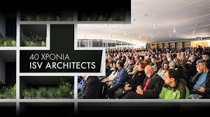 100 Isv Architects 40 Years ISV ARCHITECTS