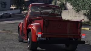 100 56 Ford Truck F100 FH3 ADDON Animated Engine Exhaust