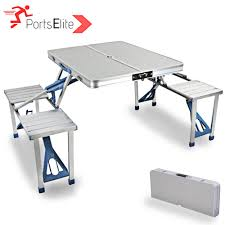 Sports Elite Outdoor Aluminium Portable Picnic Camping Table With 4 Seat Gocamp Xiaomi Youpin Bbq 120kg Portable Folding Table Alinium Alloy Pnic Barbecue Ultralight Durable Outdoor Desk For Camping Travel Chair Hunting Blind Deluxe 4 Leg Stool Buy Homepro With Four Wonderful Small Fold Away And Chairs Patio Details About Foldable Party Backyard Lunch Cheap Find Deals On Line At Tables Fniture Lazada Promo 2 Package Cassamia Klang Valley Area Banquet Study Bpacking Gear Lweight Heavy Duty Camouflage For Fishing Hiking Mountaeering And Suit Sworld Kee Slacker Campfishtravelhikinggardenbeach600d Oxford Cloth With Carry Bcamouflage