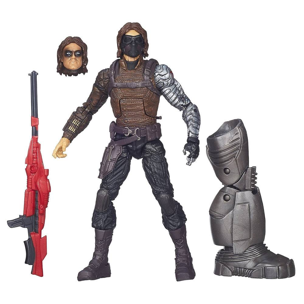 Marvel Legends Infinite Series The Winter Soldier Figure